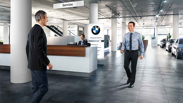 BMW Services inklusive