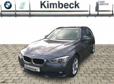 BMW 318d Touring Modell Advantage Navi AHK LED Klima