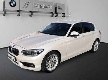 BMW 118i 5-Türer Advantage Navi LED PDC 2J Garantie