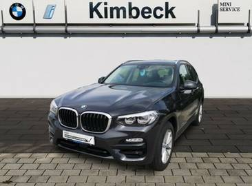 BMW X3 xDrive 20d Advantage Navi Headup AHK ACC LED